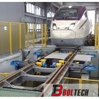 Train Wheelset Ultrasonic testing system - Wheelset & Axle measurement systems - Railway Depot Equipment -  - Boltech